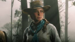 A cowgirl from Red Dead Redemption 2