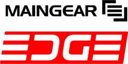 Maingear Edge logo.