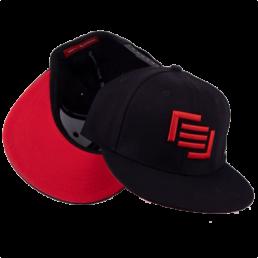 snapback-black-red